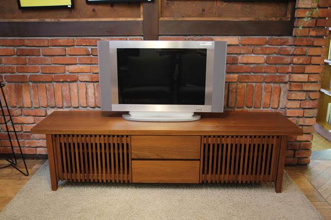 リッツウェル (Ritzwellリッツウェル テレビボード ウォールナット材 住宅展示場展示品