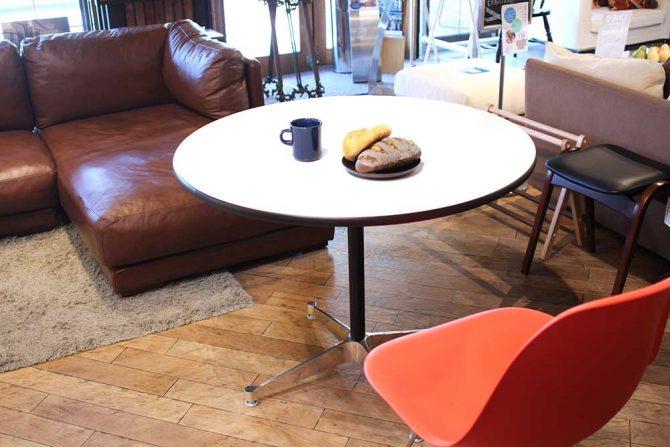 イームズデザインハーマンミラー社コントラクトベーステーブル