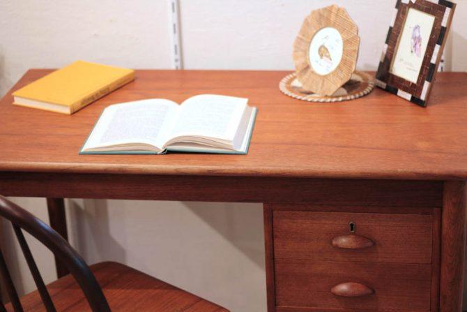 北欧製|片袖デスク 机 テーブル ヴィンテージ
