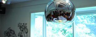 トムディクソン/Tom Dixon|ミラーボール ペンダントライト シルバー 直径40㎝