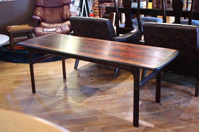 ウェストノーファ|ローズウッド テーブル 北欧ノルウェー
