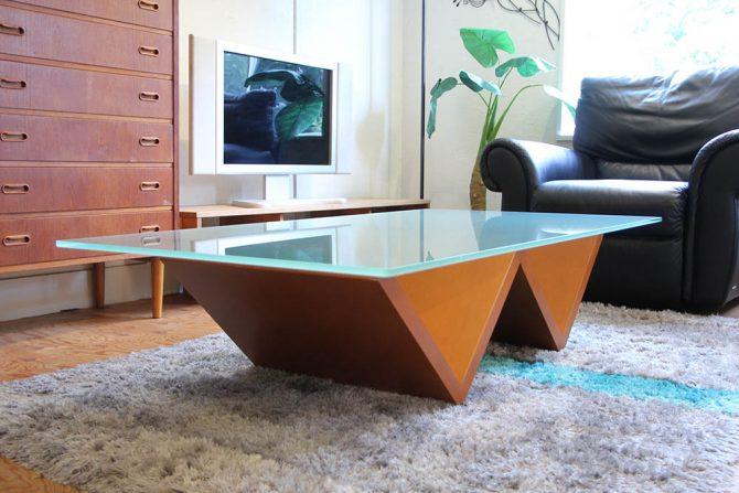 アルフレックス/arflex|MONTAGNA/モンターニャ ガラスセンターテーブル W150