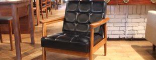 カリモク60|Kチェア1シーター スタンダードブラック 一人掛けソファ