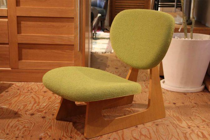 天童木工/tendo|低座イス 長大作 グリーン 座椅子