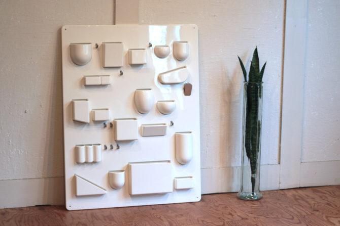 ヴィトラ/Vitra | ウーテンシロ 1 ホワイト 壁掛け収納