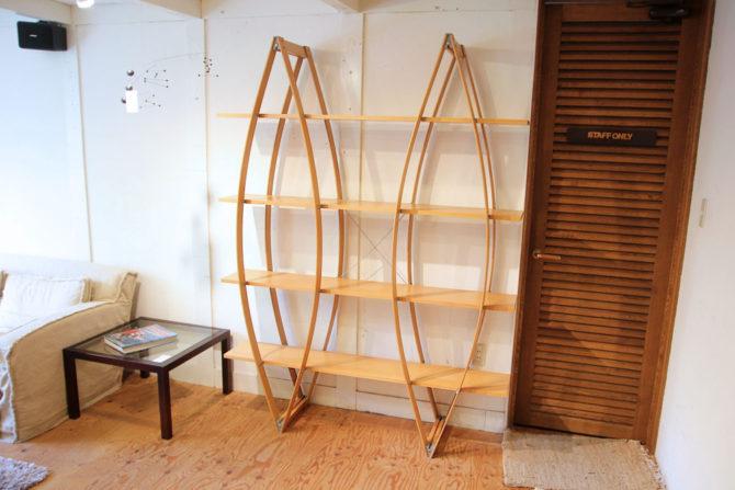 アスプルンド/ASPLUND〉モンドシェルフ ブックスタンド 飾り棚 オープンシェルフ イタリア 廃盤品