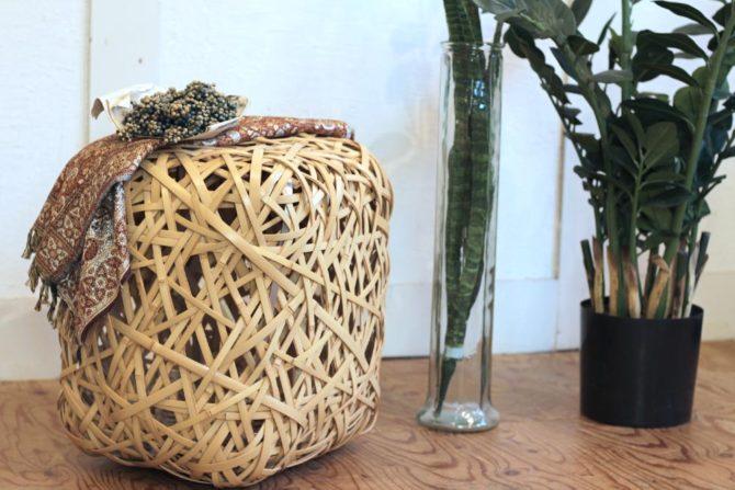 ヨーガンレール ババグーリ やたら編みスツール