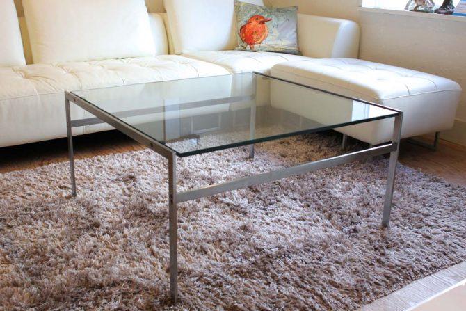 ボーエックス BO-EX ガラス ローテーブル ヴィンテージ 北欧