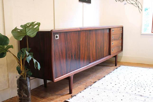 北欧家具 ローズウッド サイドボード|北欧 デンマーク ヴィンテージ