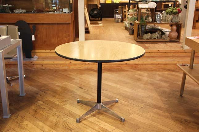 ハーマンミラー イームズ コントラクトベース ラウンドテーブル