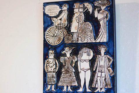 リサ・ラーソン|陶板 衣料労働組合 グスタフスベリ