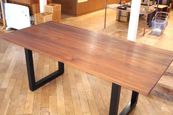 マスターウォール|ワイルドウッドダイニングテーブル ウォールナット
