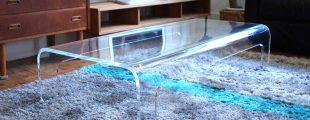 カッシーナ・イクスシー|ブーメランクリスタ ローテーブル W125