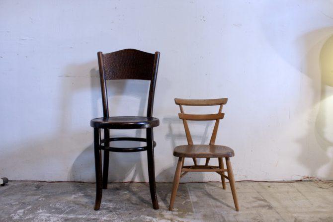 アーコール|スタッキングチェア ヴィンテージ 子供椅子