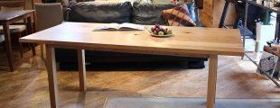 無印良品|REAL FURNITURE オーク無垢材 ダイニングテーブル