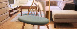 天童木工|スポークチェア あぐら椅子S-5027NA 豊口克平