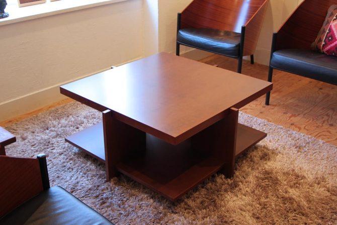 カッシーナ/Cassina|フランク ロイド ライト ルイスコーヒーテーブル/LEWIS COFFEE TABLE ローテーブル