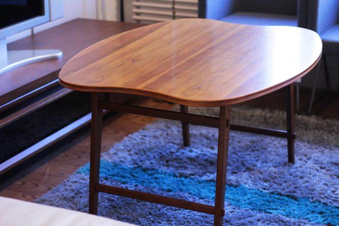 コーヒーテーブル|チーク材 北欧デンマーク