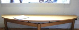 カッシーナ/Cassina |119 シンドバッドローテーブル ナチュラル ヴィコ・マジストレッティ
