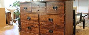 〈ローラアシュレイ〉ギャラット 8ドロワーズ チェスト クラシカル収納家具