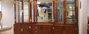 カリモク/ドマーニ|飾り棚 モーガントン ショーケース 組み合わせ5点セット