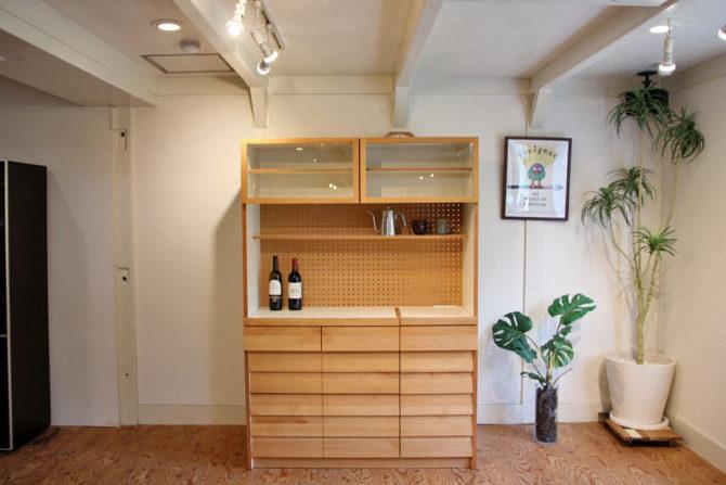 ウニコ/unico|トゥオ/TUO カップボード 食器棚