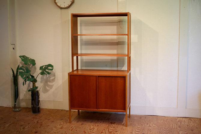 Bodafors社|ブックシェルフ 収納家具 オーク材 チーク材 スウェーデン製
