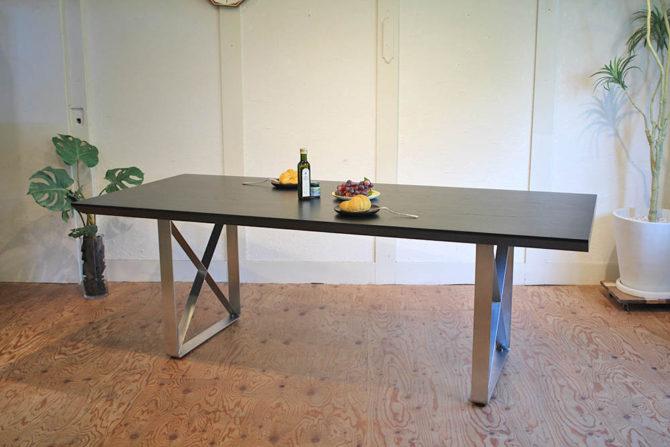 ロックストーン/ROCKSTONE|キザ/KIZA ダイニングテーブル 幅210