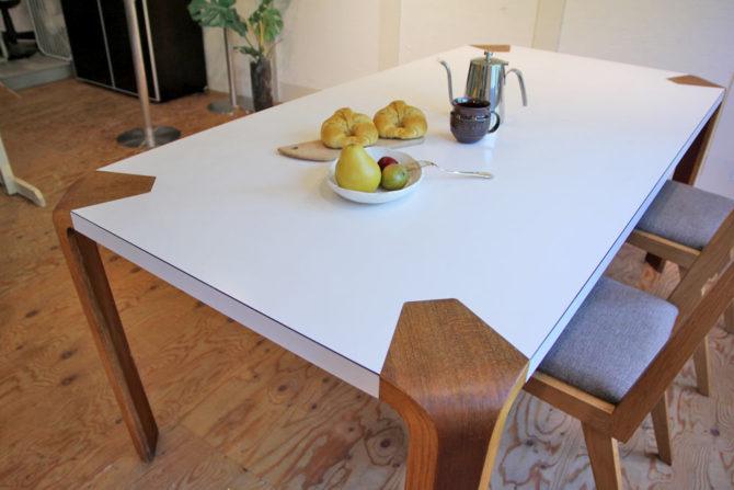 天童木工 アントラーダイニングテーブル