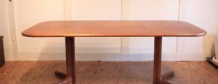グドメ チーク材ダイニングテーブル