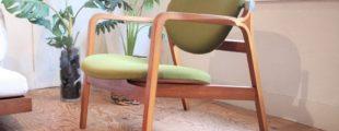 天童木工 イージーチェア 国立西洋美術館の椅子