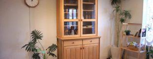 日進木工 食器棚