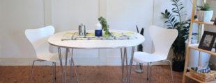 フリッツハンセン セブンチェア Bテーブル ダイニング