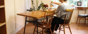 クラッシュゲート ノットアンティークス クッパダイニングテーブル