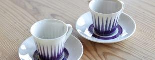 ゲフレ|ウプサラエクヴィ アストラカップ&ソーサー 北欧食器