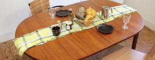 北欧家具 ヴィンテージチーク材テーブル