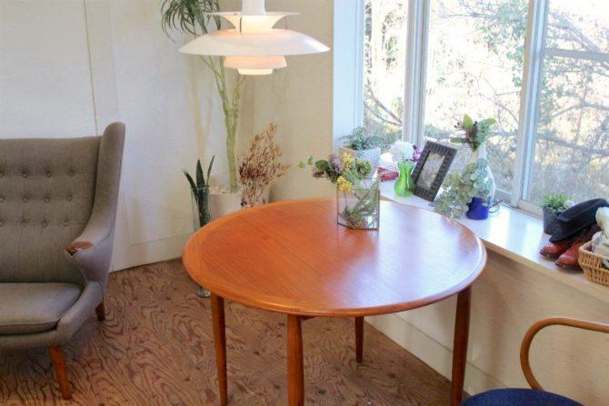 宮崎椅子製作所 ユニバーステーブル チーク材