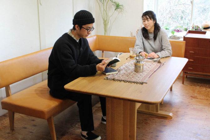 シギヤマ家具 岩倉榮利 GREEN YUZU
