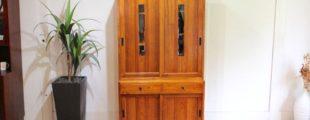 岩手岩泉純木家具 水屋箪笥