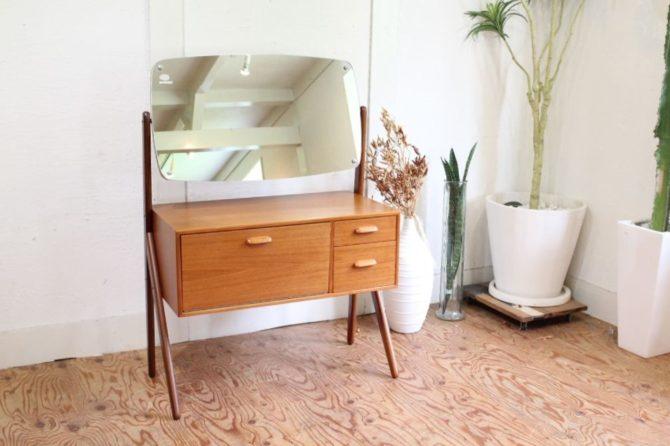デンマーク製 ヴィンテージ ドレッサー 北欧家具
