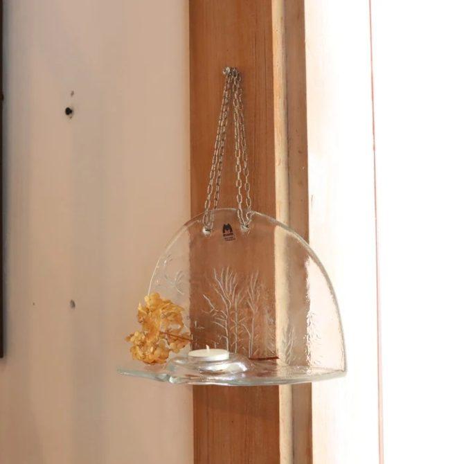 ムルーラ ガラスキャンドルホルダー