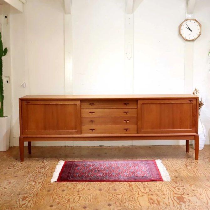 北欧家具 ヴィンテージ チーク材サイドボード