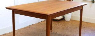 北欧家具 デンマーク製ヴィンテージ伸長式テーブル