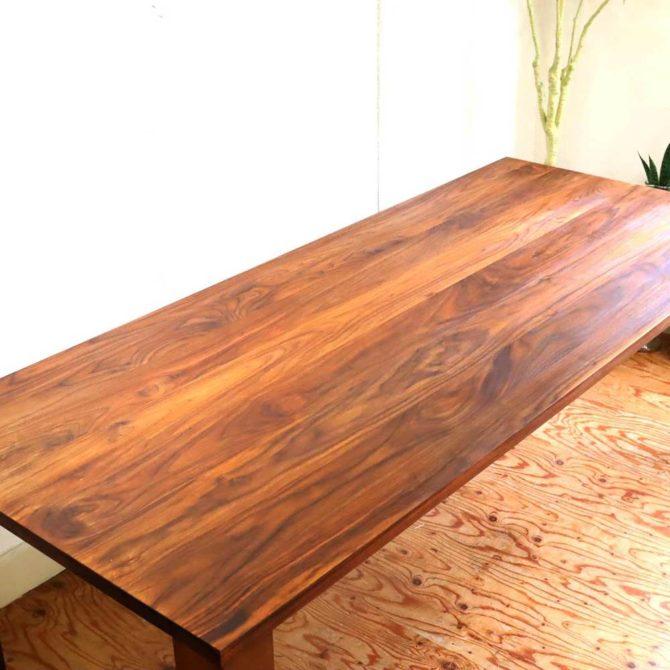 柏木工 テーブル研磨